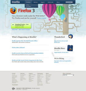 Mozilla.com Site Redesign Update