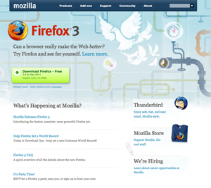 Firefox 3 Is Here, and So Is the New Mozilla.com