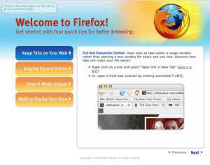 Firefox First Impressions