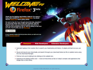 Blasting Off With Firefox 3
