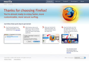 Addressing Firefox Retention on the Download Page